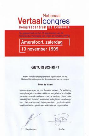 albion vertalingen Sliedrecht vertaalbureau beste vertaler 1999
